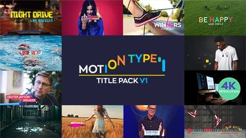 Motion Type - Titles Pack - After Effects Project (Videohive)