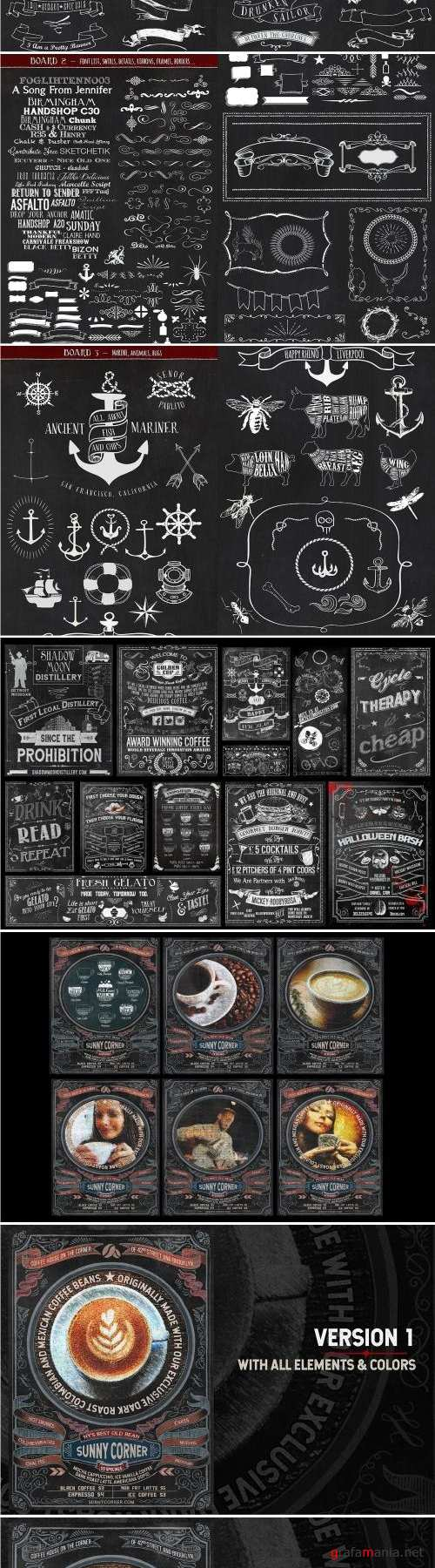 Ultimate Chalkboard Mega Bundle - 2188216
