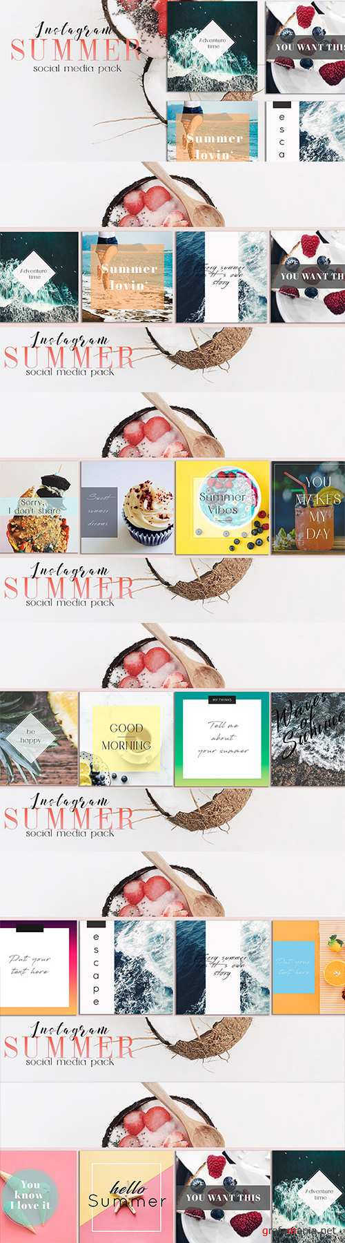 Sweet Summer Social Media Pack