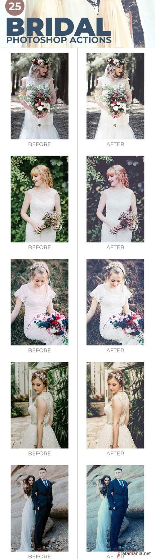 25 Bridal Photoshop Actions 22082649