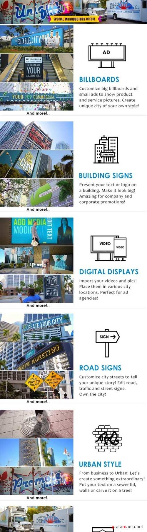 AD - City Titles Mockup Business Intro 21924523
