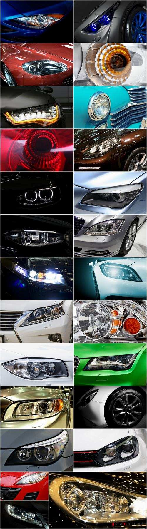 Car headlight lamp light glass lens 25 HQ Jpeg