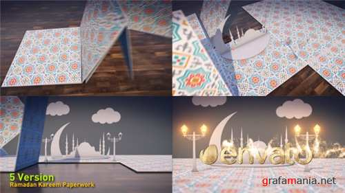 Ramadan Kareem Paperwork - After Effects Project (Videohive)