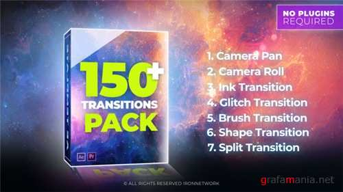 Transitions 21637768 - After Effects Project (Videohive)