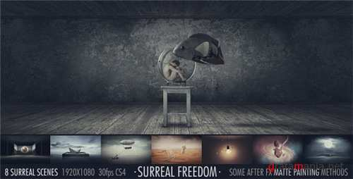 Surreal Freedom - After Effects Project (Videohive)