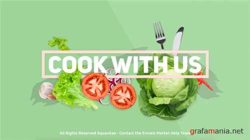 Cook With Us - Cooking TV Show Package - After Effects Project (Videohive)