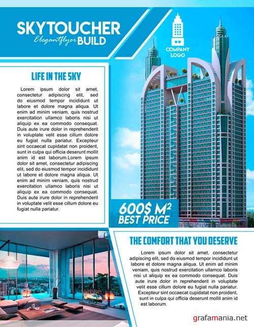 Sale of property V1 2018 Flyer PSD Template