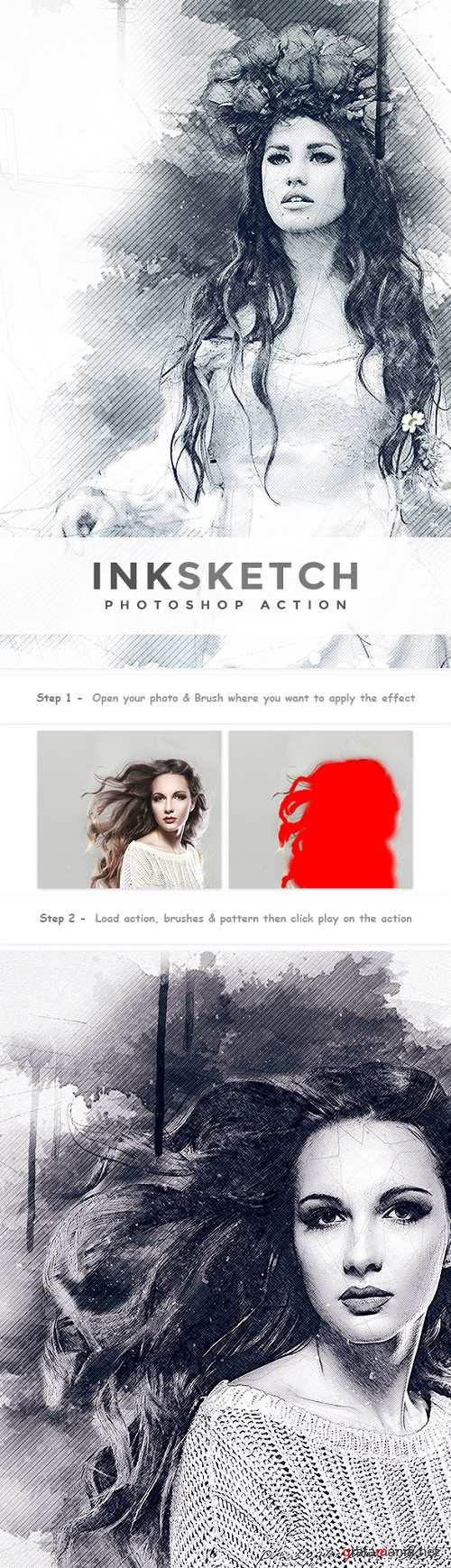Inksketch | PS Action 22347140