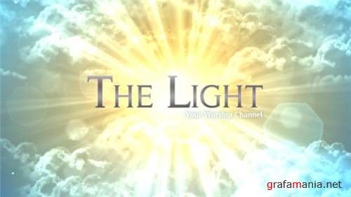 The Light - Worship Broadcast Package - After Effects Project (Videohive)