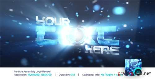 Particle Assembly Logo Reveal - After Effects Project (Videohive)