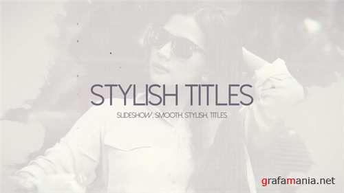 Stylish Titles - After Effects Project (Videohive)