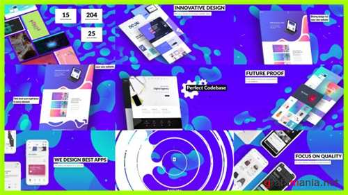 Dynamic Website / Agency Presentation - After Effects Project (Videohive)