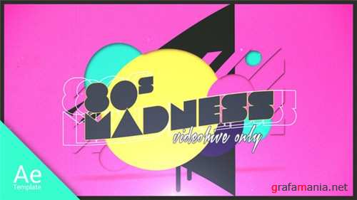 80s Madness - After Effects Project (Videohive)