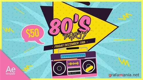 New 80s - After Effects Project (Videohive)