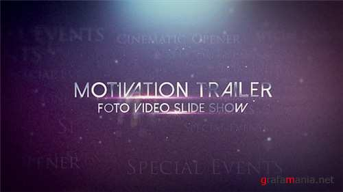 Motivation trailer - After Effects Project (Videohive)
