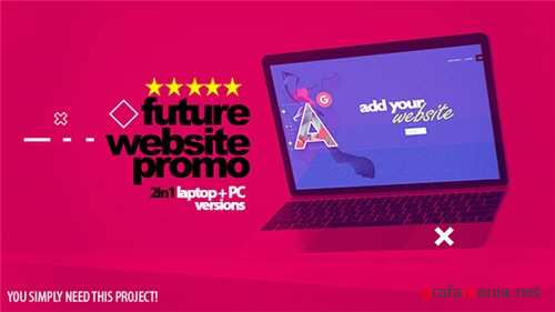 Future Website Promo 2in1 - After Effects Project (Videohive)