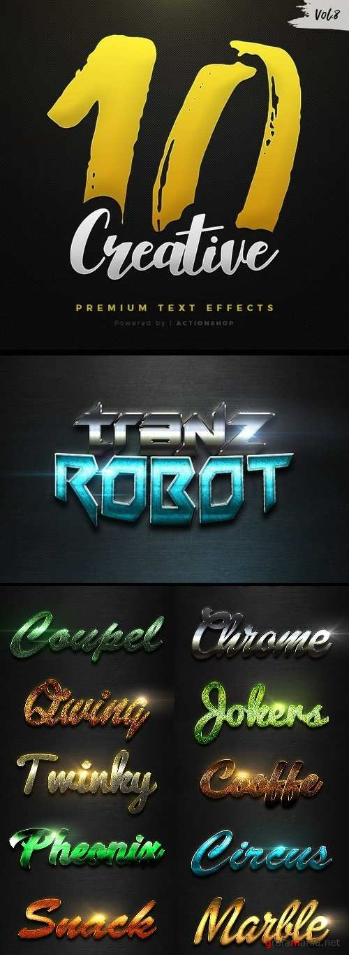 10 Creative Text Effects Vol.8 - 21100655