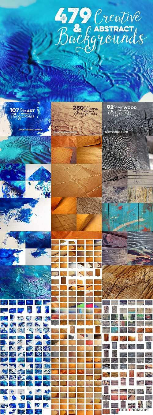 478 Creative & Abstract Backgrounds - 302223