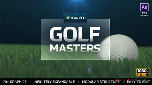 Golf Masters Graphics Package - After Effects Project (Videohive)