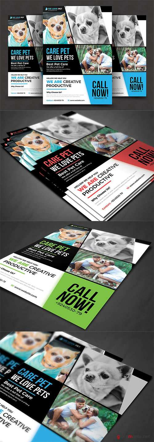 CM - Pet Shop Flyer Template 2906712