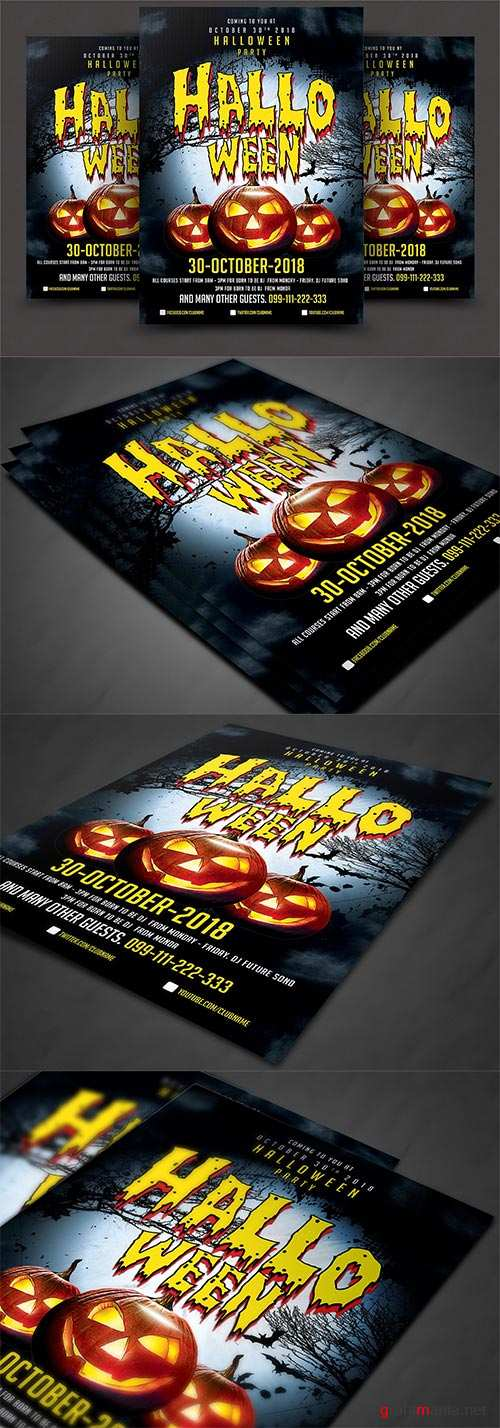 CM - Halloween Party Flyer 2906705