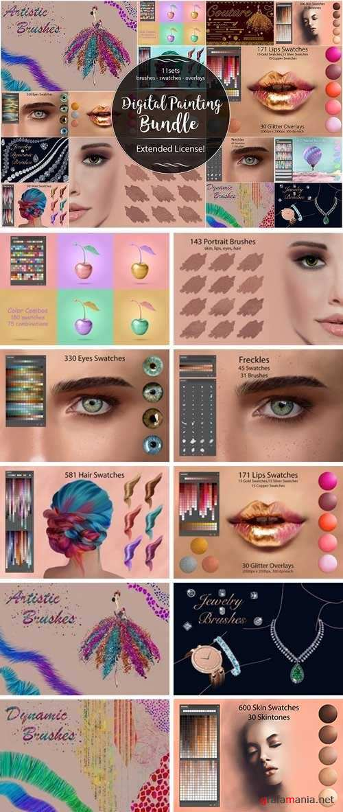 CM - Digital Painting Bundle 2807566