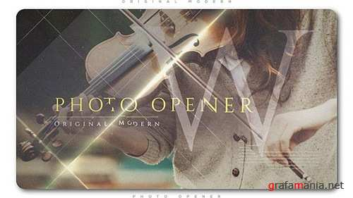Original Modern Photo Opener - After Effects Project (Videohive)