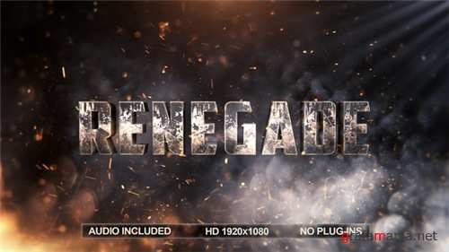 Blockbuster Title - After Effects Project (Videohive)