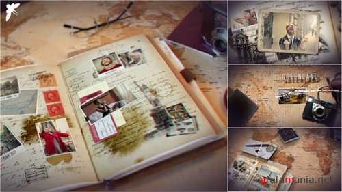 Vintage Travel Journal - After Effects Project (Videohive)