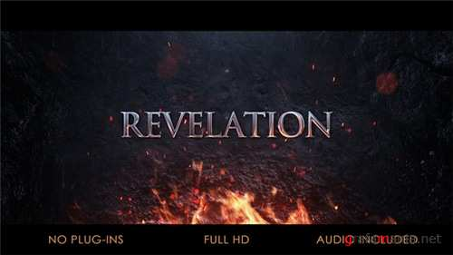 Cinematic Logo & Title - After Effects Project (Videohive)