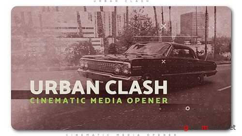 Urban Clash Cinematic Media Opener - After Effects Project (Videohive)