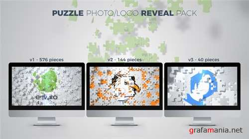Puzzle Photo / Logo Reveal Pack - After Effects Project (Videohive)