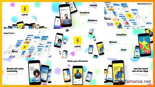 Modern App Promo / Advertisement / Presentation - After Effects Project (Videohive)