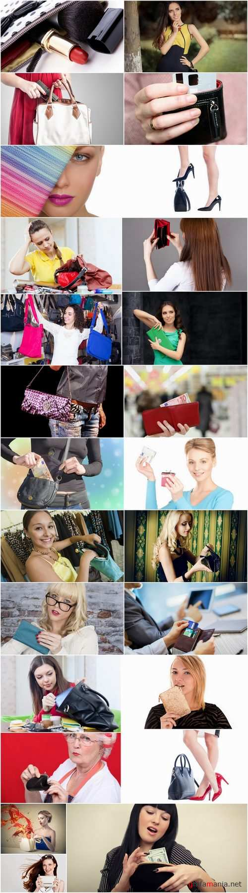 Purse bag luggage girl woman shopping 25 HQ Jpeg