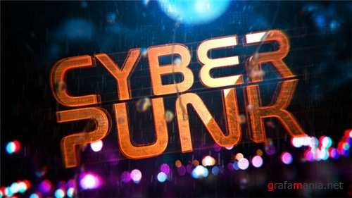 Cyberpunk Reveal - After Effects Project (Videohive)