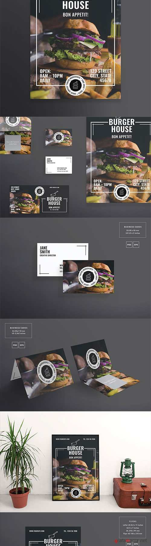 CM - Print Pack | Burger House 2171648