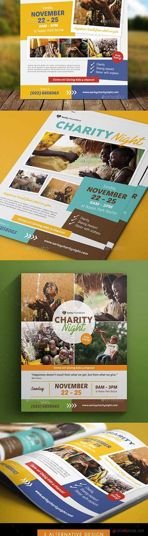 GR - Charity Event Flyer 19076696