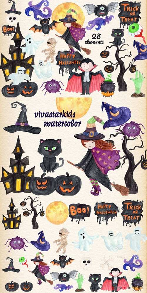 28 Hand Painted Halloween Themed Designs