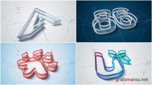 Architect Logo Build v2 - After Effects Project (Videohive)