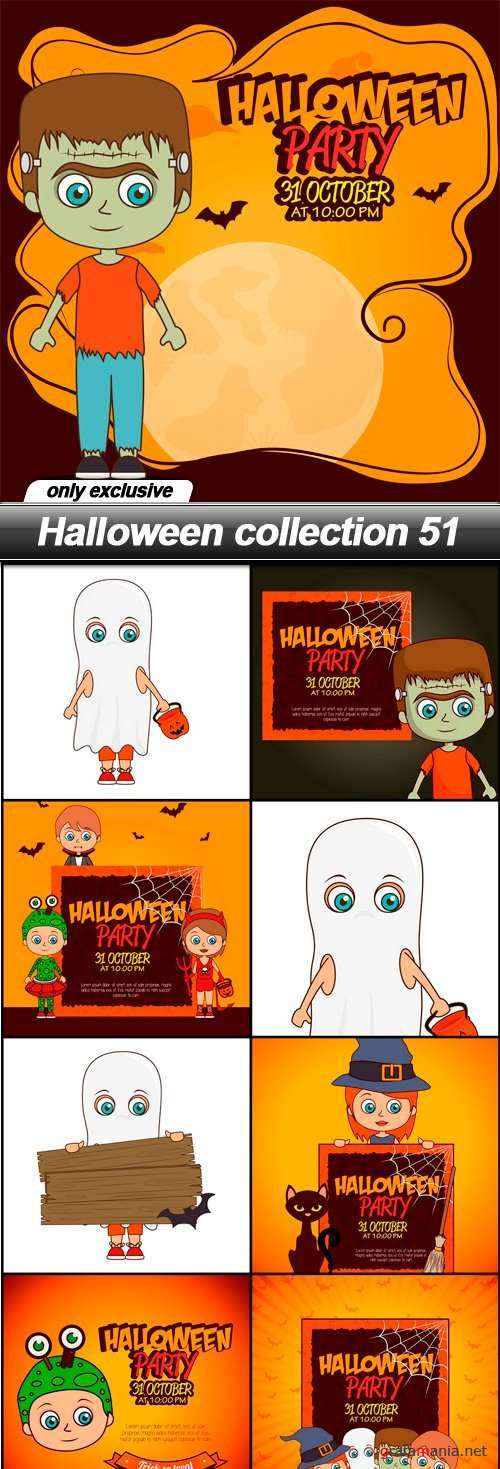 Halloween collection 51 - 9 EPS