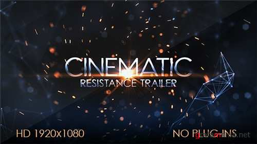 Resistance Cinematic Trailer - After Effects Project (Videohive)