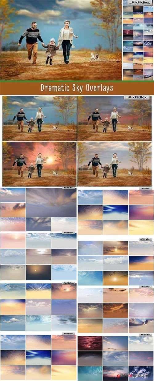 Dramatic Sky Overlays 2823892