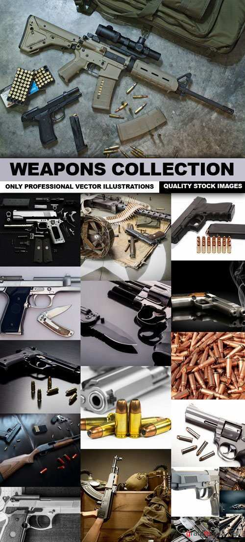 Weapons Collection 25xJPG