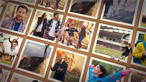 Out of the Frame - Photo Slideshow - After Effects Project (Videohive)