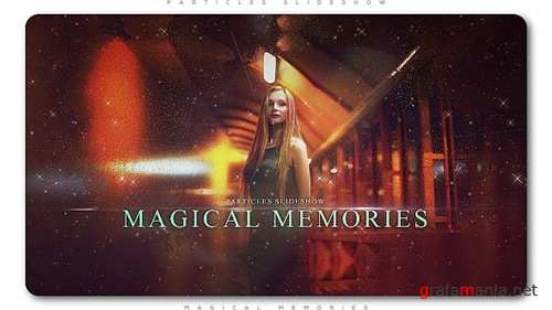 Particles Slideshow Magical Memories - After Effects Project (Videohive)