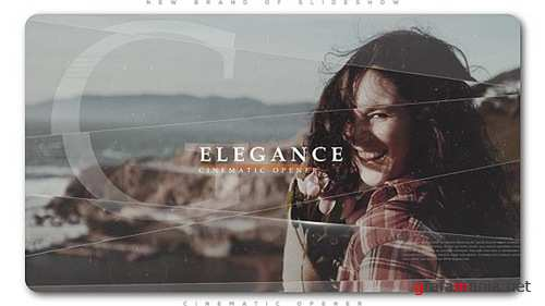 Elegance Cinematic Opener | Slideshow - After Effects Project (Videohive)
