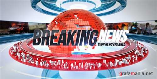 24 Broadcast News Complete TV Package - After Effects Project (Videohive)
