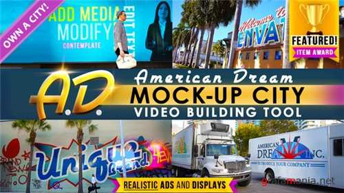 AD - City Titles Mockup Business Intro - After Effects Project (Videohive)
