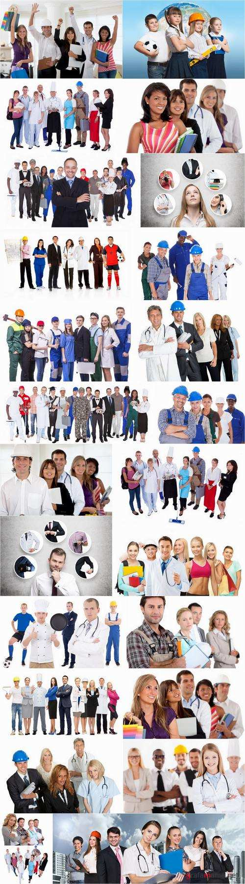 Different professions builder doctor working businessman 25 HQ Jpeg