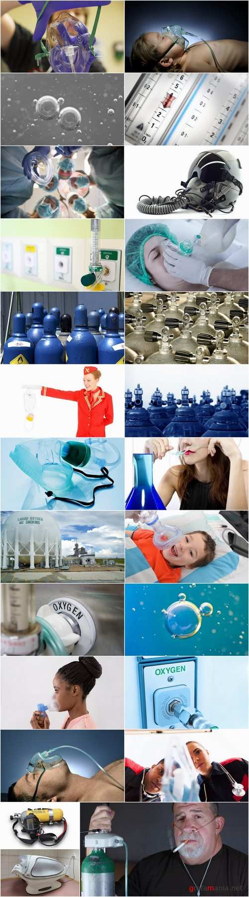 Oxygen mask help in case of poisoning 25 HQ  Jpeg